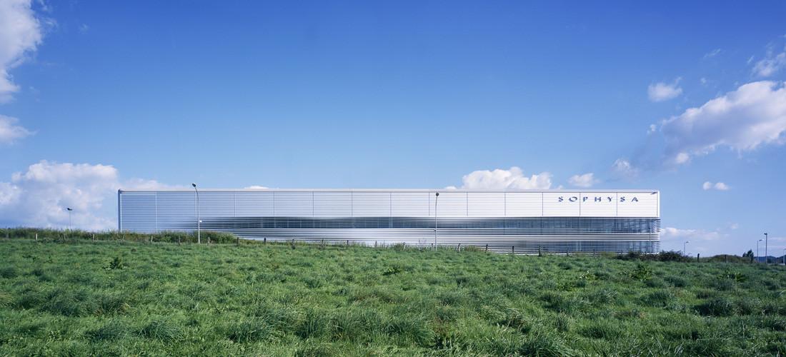 Unit de production sophysa besan on france m tra associ s - Brigitte metra architecte ...