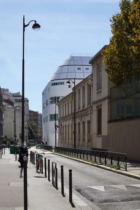 ParisCC20_vue depuis rue des Maraichers_Métra+Associés_©Nathalie Carne